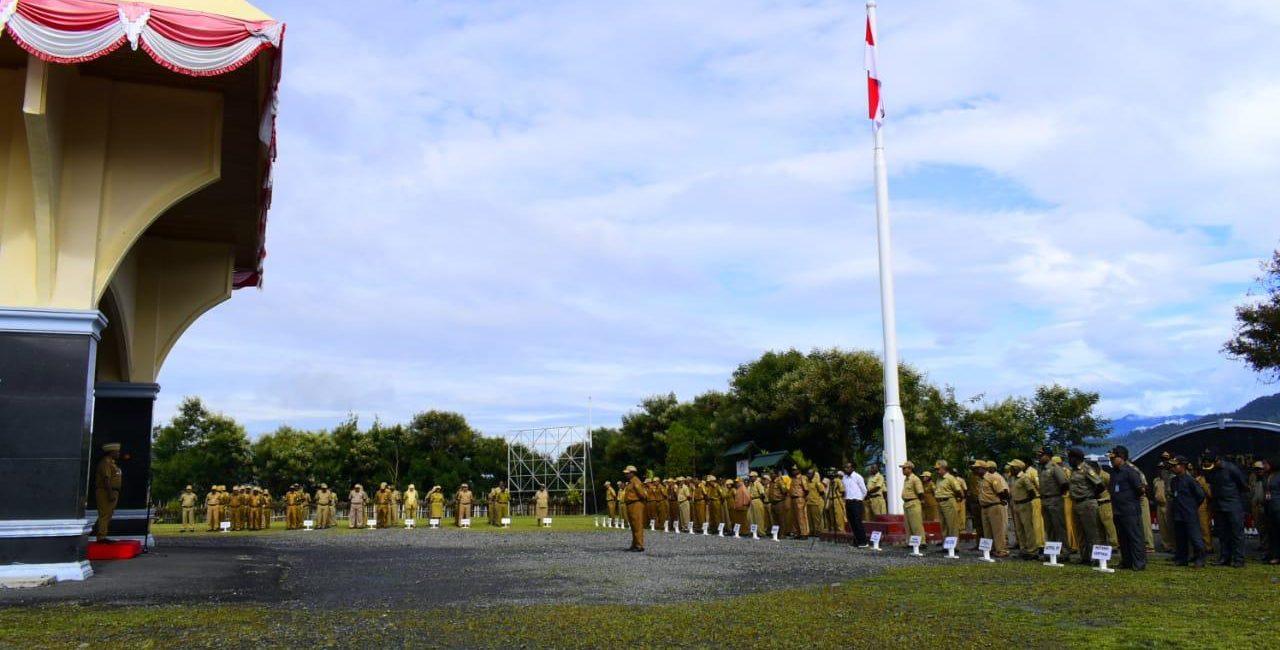 Apel Gabungan ASN Kabupaten Puncak Jaya Papua