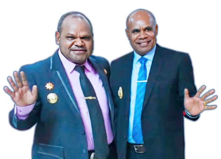 Bupati dan Wakil Bupati Puncak Jaya Papua crop