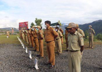 Apel Rutin Gabungan di Wilayah Kabupaten Puncak Jaya